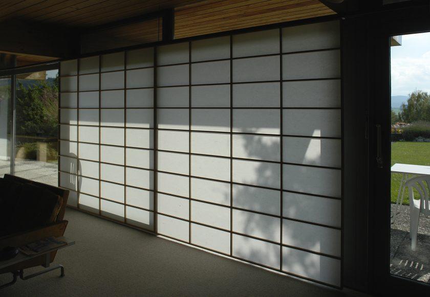 Shoji ohne Rahmenkonstruktion