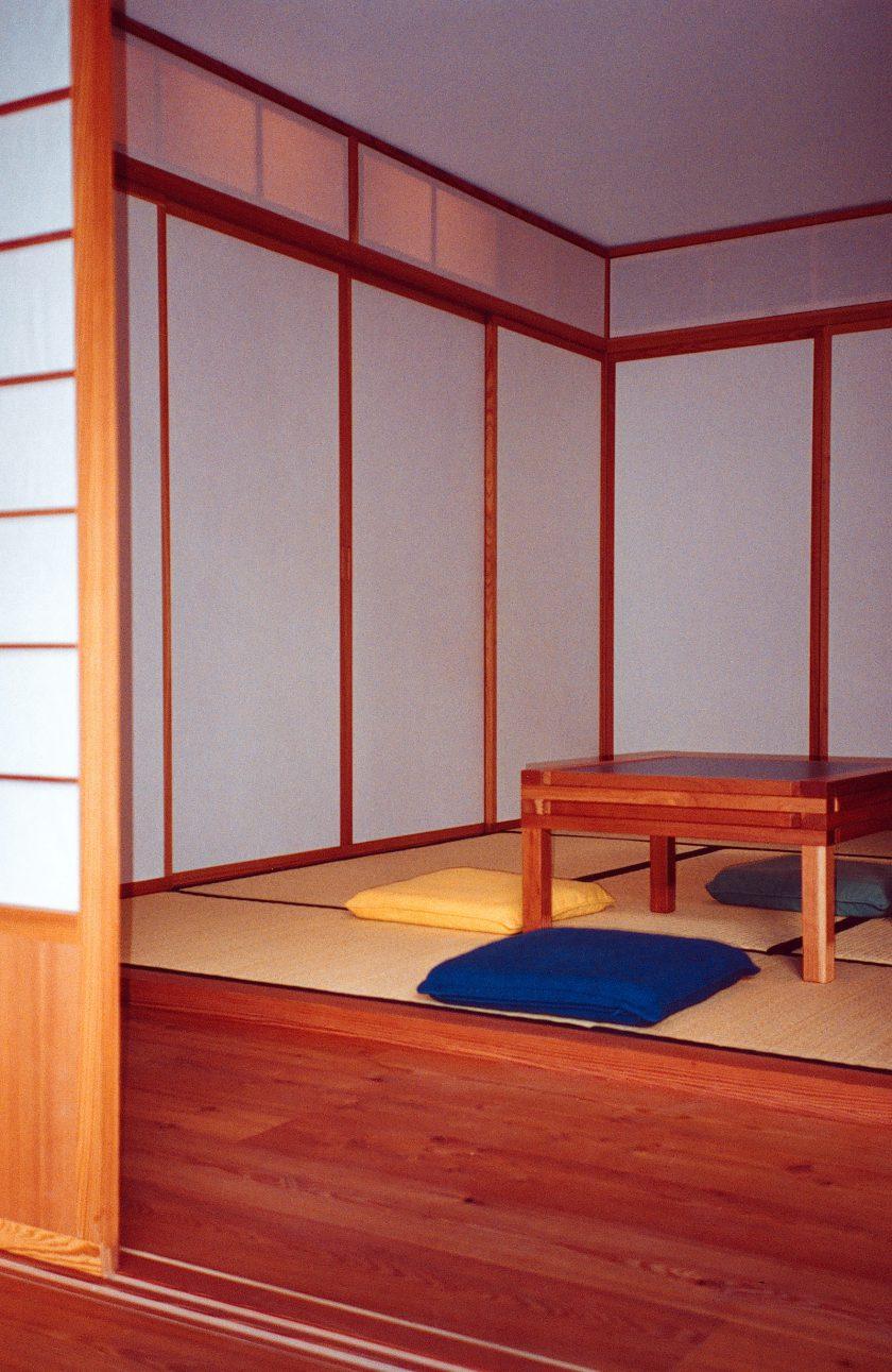 Grosszügiges Washitsu mit Tatamis, Shoji's und Fusumas
