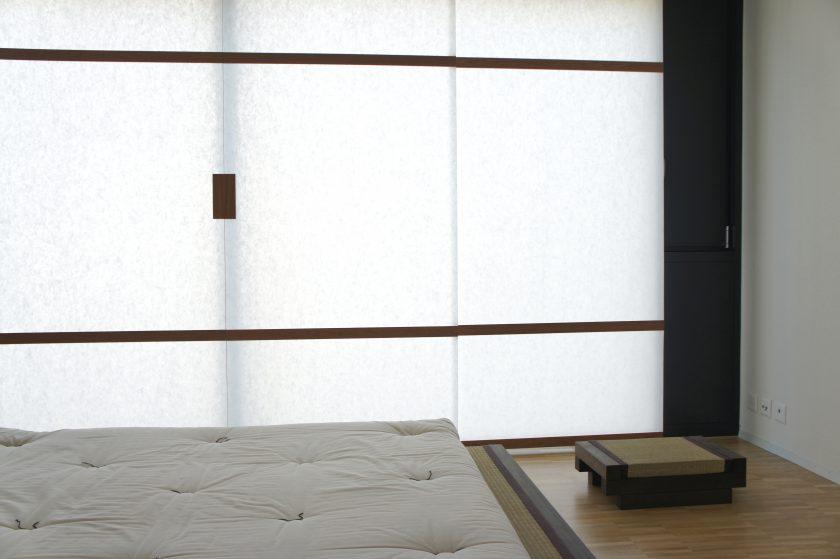 Panel-System mit Washi-Papier