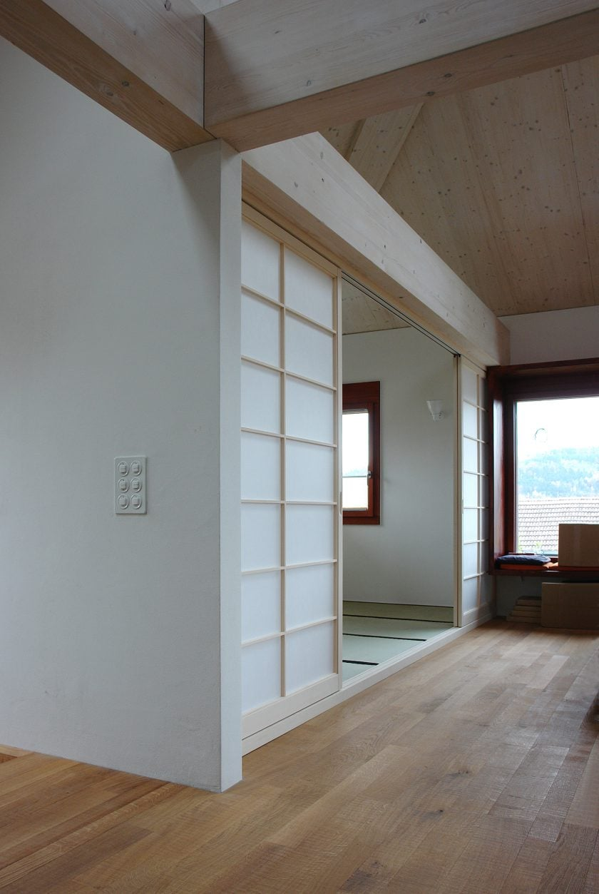 Tatamizimmer als 'Raum im Raum'