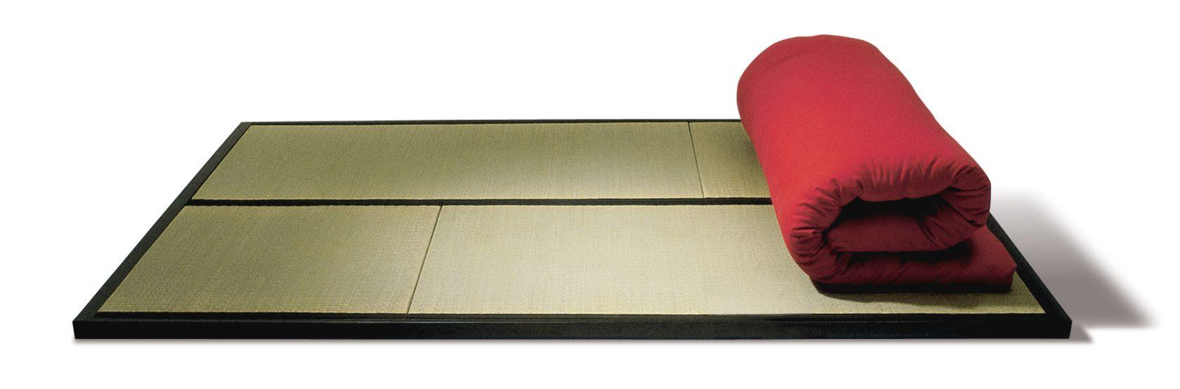 Tatami Rahmen Futon Rot