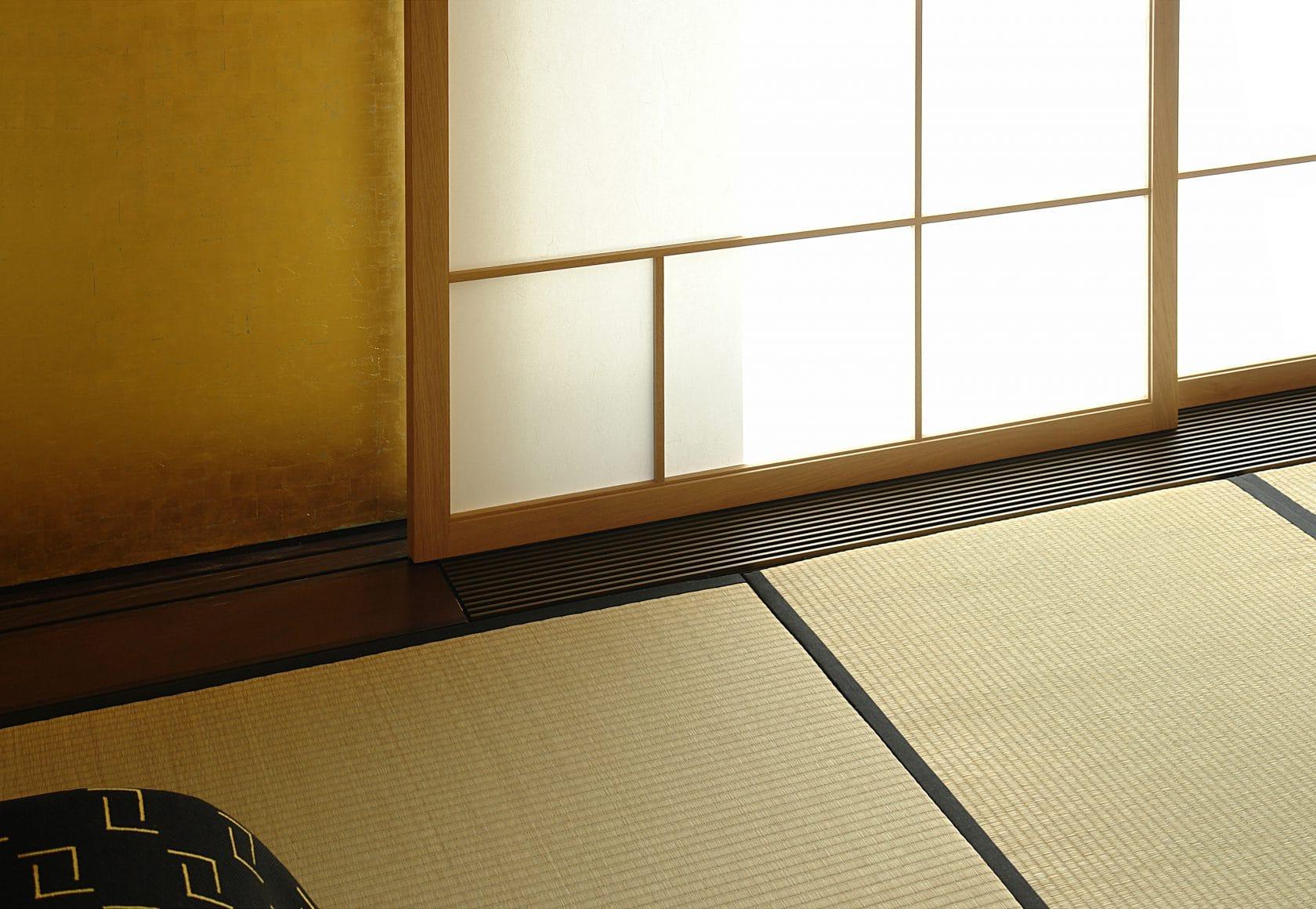 Tatami Shoji Ausschnitt Roe