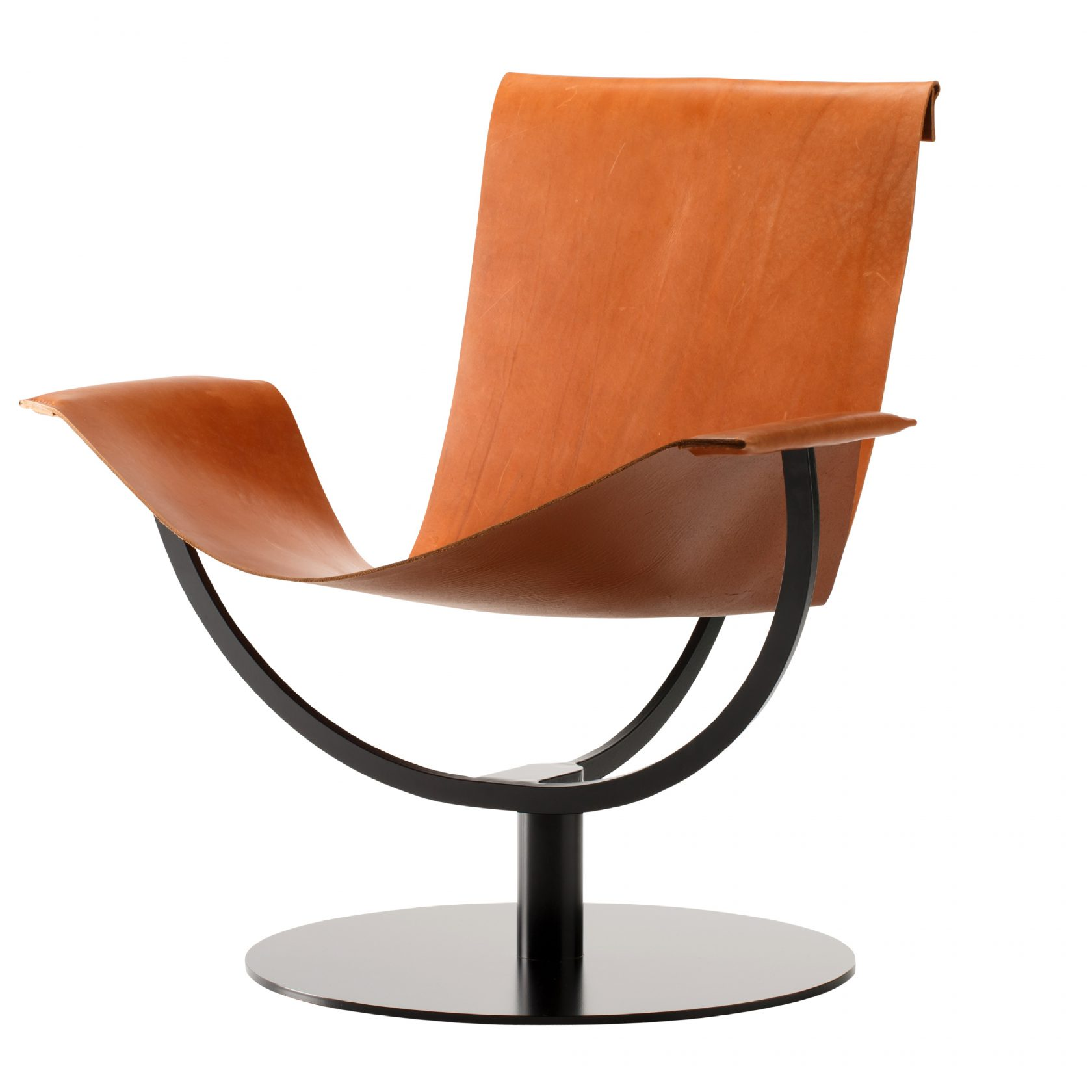 arch chair leather cognac 03