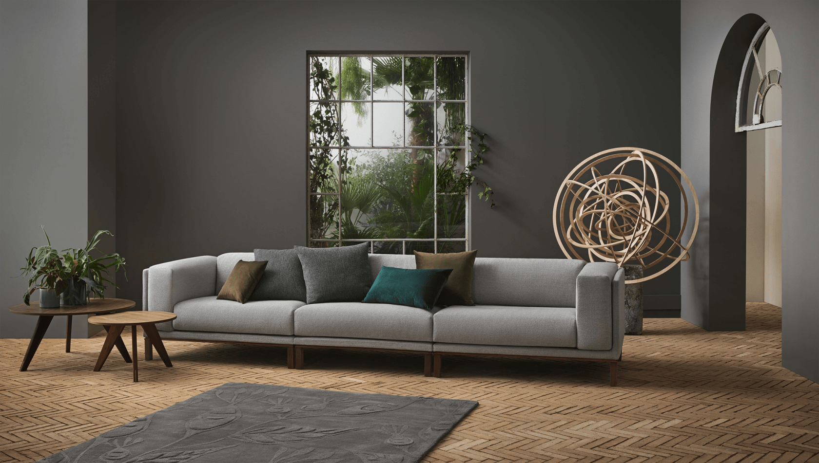 Cosy Classic Cushion New Mood Fiore Path