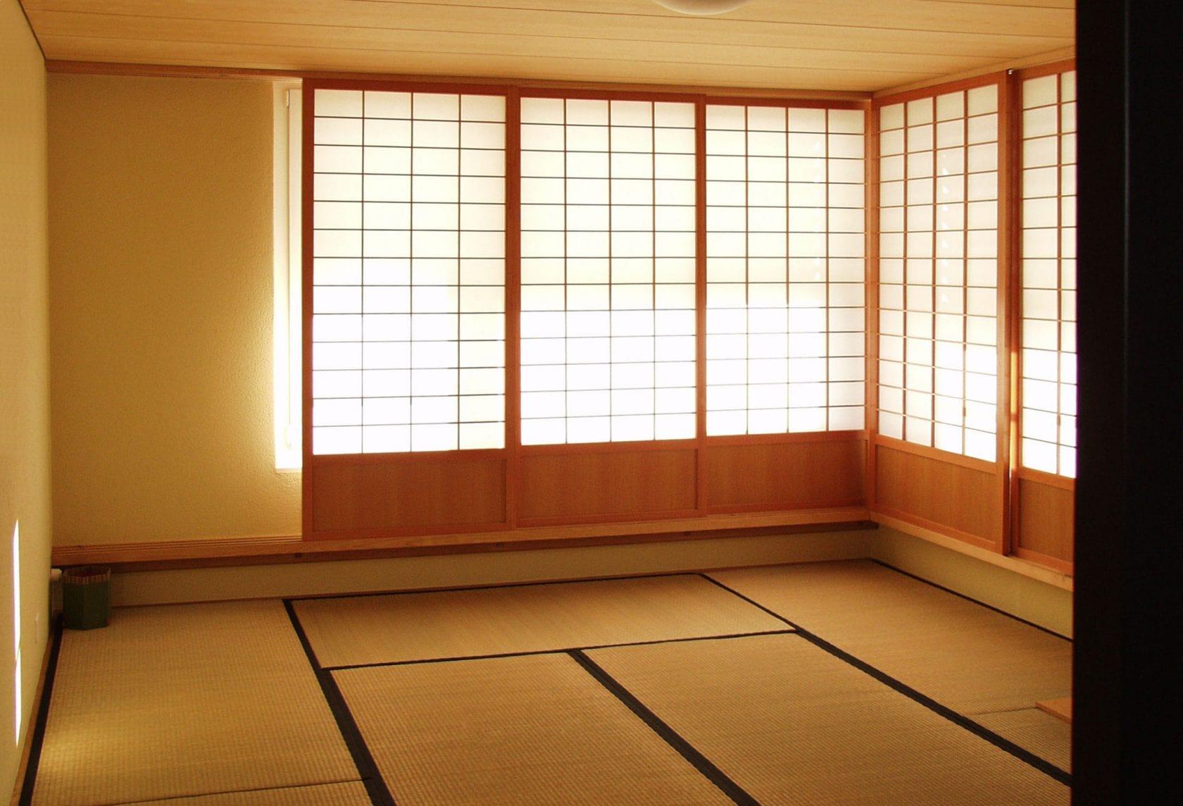Tatami Shoji Zimmer Sul